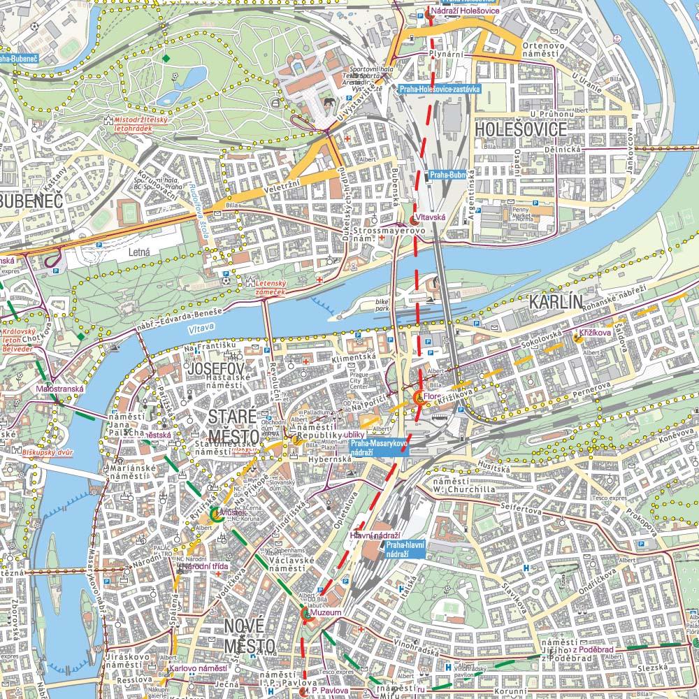 Northern Prague Traseo Com Offline Maps