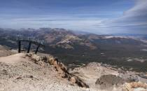 View from Mammoth Mountain