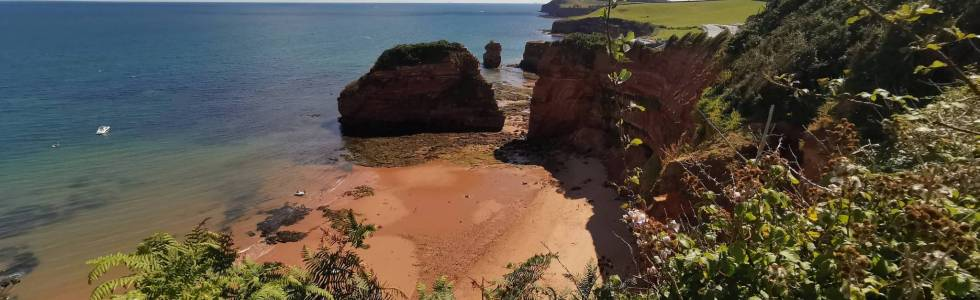 |South West Coast Path z Sidmouth do Budleigh